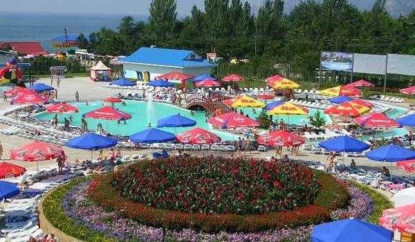 Аквапарк Судак, Крым