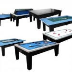 Игровая система 6в1 ТОРНАДО (бильярд, аэрохоккей, покер, рулетка, настольный теннис и крышка для обеденного стола!