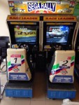 Игровые Аркадные Аппараты Симуляторы. Sega, Namco, Midway.
